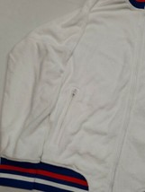 NWT Champion White Sweatshirt Zip Up Track Jacket Large New With Tags!!! - $59.39