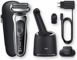 Braun Series 7 70-S7200cc Shaver Electric Of Foil With Centre Of Cleaning - $580.47
