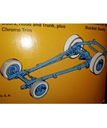 RACING CHASSIS & SUSPENSION SALVAGED FROM 41 WILLYS STONE WOODS & COOK - $14.20