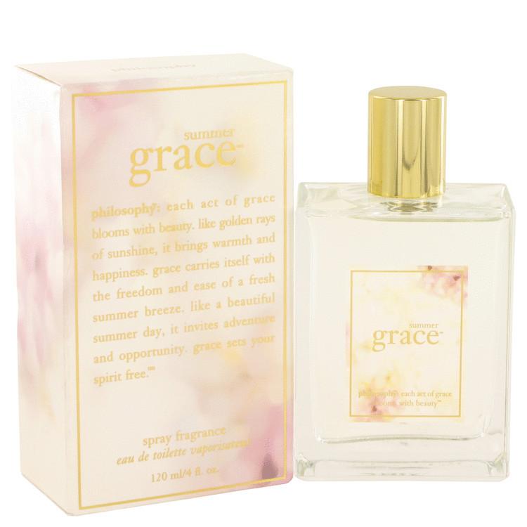 Primary image for Summer Grace By Philosophy For Women 4 oz EDT Spray
