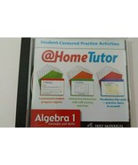 Holt McDougal Algecra 1 concepts & skills at home tutor CD Rom Houghton ... - $6.92