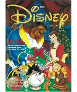 THE DISNEY CATALOG CHRISTMAS 1997 Holiday Beauty & The Beast COVER Toy W... - $24.74