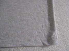 Arizona Jeans Men T Shirt 2XL Beige Solid Crew Cotton Polyester 17111 image 4
