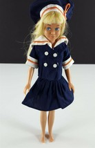 Skipper Sandy Elite Sailor Outfit Navy Skirt Top Tam & Shoe Clone 1960s ... - $29.69