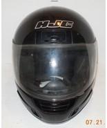 HJC CS 12 Full Face Motorcycle Helmet Black Sz L Snell DOT Approved - $70.13