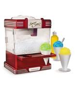 Nostalgia Electrics Snow Cone Maker Retro Series Shave Ice Machines Syrup - $69.94