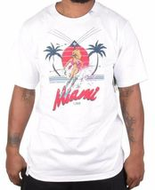 LRG Men's It Only Snows In Miami T-Shirt, White, Large image 5