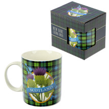 Collectable New Bone China Mug - Scottish Thistle Scotland Fun Gift Kitchen - $9.69