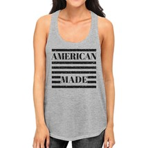 American Made Cute Womens Racerback Tank Top Gifts For Army Wives - $14.99+