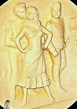 """""""Carmen"""" Di Volteradici Commemorative Plate by Gene Ruggeri AA20-CP2330 Vintage image 4"""
