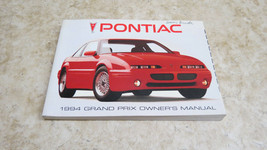 OEM FACTORY 1994 PONTIAC GRAND PRIX OWNERS MANUAL L-231 - $7.61