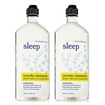 Bath & Body Works Aromatherapy Sleep Lavender &  Chamomile Body Wash & F... - $22.84
