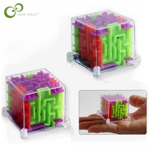 018 new 2pcs lot mini 3d maze magic puzzle speed puzzle game maze ball educational toys thumb200