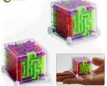 Ew 2pcs lot mini 3d maze magic puzzle speed puzzle game maze ball educational toys thumb155 crop