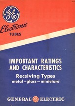General Electric Tubes Essential Characteristics ETR-15 ETR-15e * CDROM ... - $9.99