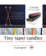 TINY TAPERS (3 boxes) for Quistgaard (Dansk Designs) candle holders. - $45.00