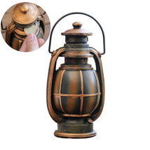 Strongwell Retro Style Kerosene Lamp Tank Home Ceramic - $33.95