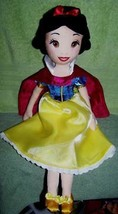 "Disney Store Snow White & the Seven Dwarfs SNOW WHITE 20""H Plush Doll NWT - $20.88"