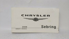 2008 Chrysler Sebring Owners Manual 73402 - $34.53
