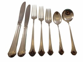 Chippendale by Towle Sterling Silver Flatware Service For 8 Dinner Set 65 Pieces - $4,695.00