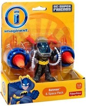 Imaginext DC Super Friends Batman & Space Pack Figure - X7651 - New - $18.22