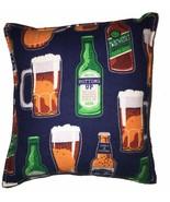 Beer Pillow Handmade In USA Beer Mug , Beer Bottle ,German Pillow , Octo... - $9.99