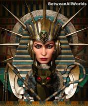 vzkm Female Pharaoh Vampire Demon Djinn + Her Dark Demon Army Betweenall... - $149.50