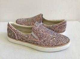 Ugg Adley Chunky Glitter Confetti Pink Leather Sneakers Us 6.5 / Eu 37.5 / Uk 5 - $55.17
