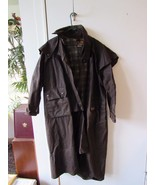 Aussie Apparel Oil Skin Australian Waterproof Duster Drover Coat Jacket ... - $88.21