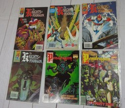 KNIGHTS OF THE PENDRAGON LOT OF 6 - #1, 2, 5, 9, 16, 17 Marvel - C2746 - $4.49