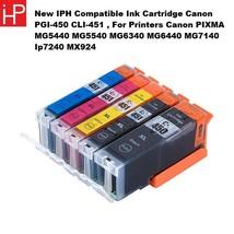 New IPH Compatible Ink Cartridge PGI-450 CLI-451 , Fit Printers Canon PIXMA - $28.40