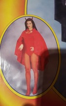 Costumes Red Taffeta Cape, 45'' new lot 105 by franco - $17.57