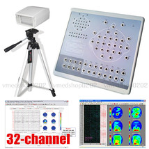 Digital 32-Channel EEG Machine Mapping System Recorder+Software,Tripod,K... - $2,375.01