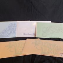 Disneyland Commemorative Cards Frontier Land (2) Critter County Adventur... - $37.99