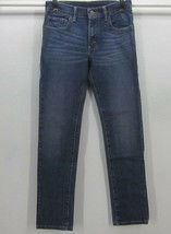 LEVI'S 510 SUPER SKINNY LEG TEEN'S W27 L27 (14REG) DARK BLUE STRETCH JEA... - $22.50