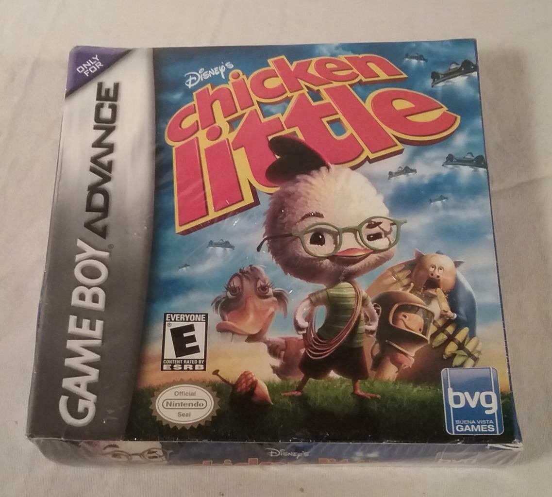 Primary image for NINTENDO GAME BOY ADVANCE FACTORY SEALED GAME DISNEY'S CHICKEN LITTLE