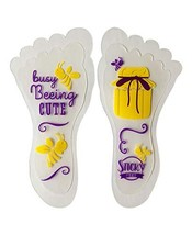 Sticky Feet - Sock and Stockings Feet Grip Stickers - Busy Beeing Cute