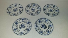 """Johnson Brothers Ironstone Indies Blue 6 1/4"""" Bread & Butter Plate – Set... - $14.00"""