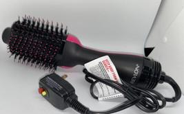 Revlon One Step Hair Dryer Volumizer Brush Professional Black Pink - $39.99