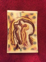 Vintage 70s WonderArt Plastic Canvas Tissue Cover Kit #6000 - by Needlecraft image 2