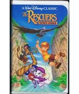 The Rescuers Down Under (1990) VINTAGE VHS Cassette - $14.84