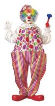 Harpo Hoop Clown Costume Adult Funny Comical Halloween Childs Party AA85 - $59.99