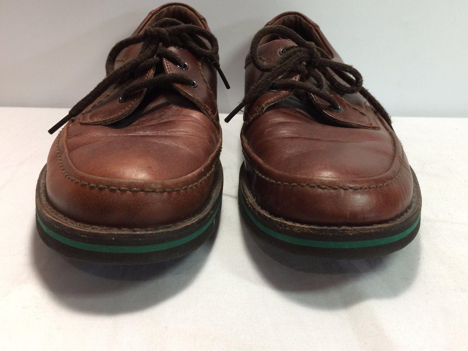 ed77310d2d0b7e ... HUSH PUPPIES The Body Shoe Men s Brown Leather Lace Oxford Walking Shoe  ...