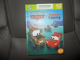 LeapFrog Tag Reading System Disney The World of Cars Tractor Tipping Book NEW - $22.00