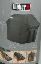 Weber 7107 Full Length Grill Cover with Storage Bag Color Black image 5