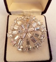 Starbrights Rhinestone Pin by Danecraft Maybe Vintage - $29.92