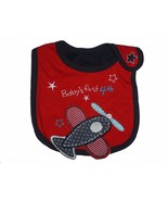 NEW Baby's 1st 4th of July Teething Baby Bib Water Resistant - $3.95