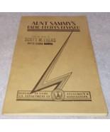 Aunt Sammy's Radio Recipes Revised 1931 Scott Lukas Senator Cook Book Ba... - $9.95