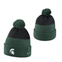 NIKE Michigan State Spartans Knit Beanie sz OSFM One Size Fits Most Green - $19.97