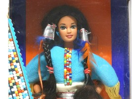 1993 Mattel Native American Barbie #11609 New NRFB - $14.85